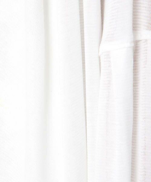 ketty / ケティ カットソー | 【洗濯可能】テンセルキュプラトッパーカーディガン | 詳細5
