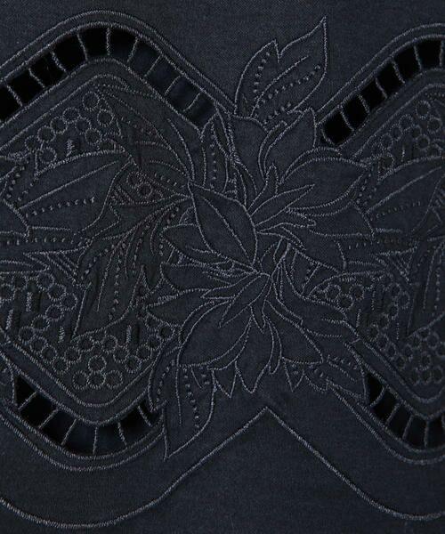 ketty / ケティ カットソー   【洗濯可能】リヨセル綿スムース胸元刺繍カットソー   詳細6