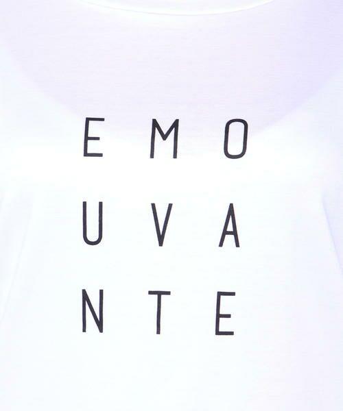 ketty / ケティ カットソー | 【洗濯可能】Funcs Coolリヨセル綿スムースロゴTシャツ<EMOUVANTE> | 詳細5