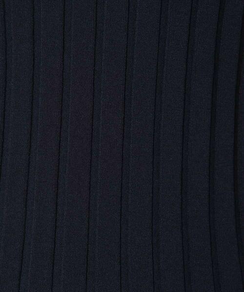 ketty / ケティ ニット・セーター | 【洗濯可能】アセテートワイドリブ襟付ニットプルオーバー | 詳細6