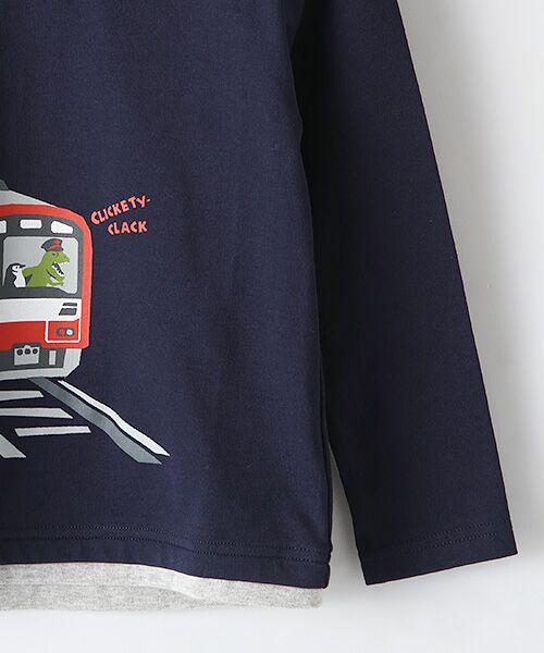 kladskap / クレードスコープ カットソー   電車プリントTシャツ   詳細5