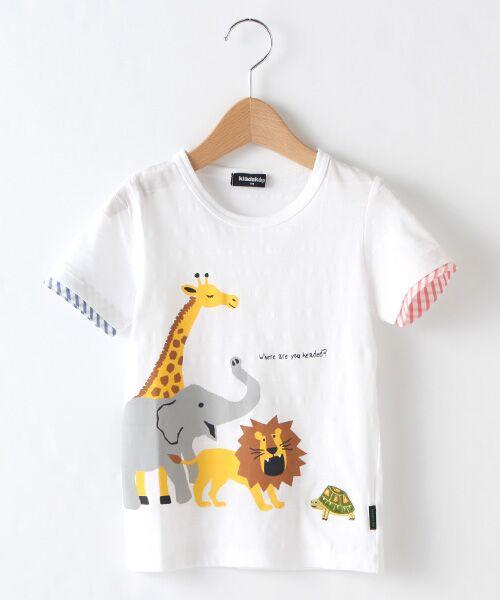 kladskap / クレードスコープ Tシャツ | 5アニマルTシャツ(オフホワイト)