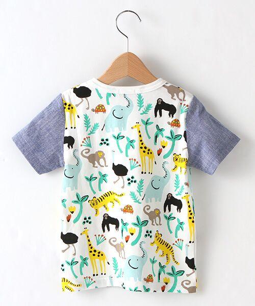 kladskap / クレードスコープ Tシャツ   アニマル総柄Tシャツ   詳細1