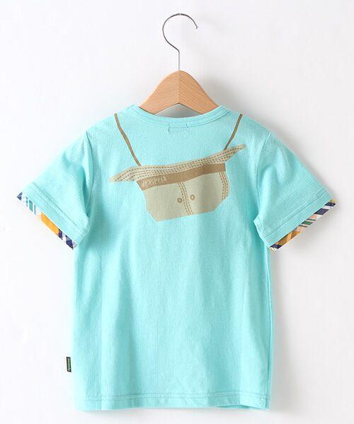 kladskap / クレードスコープ Tシャツ | カメラアップリケ半袖Tシャツ | 詳細2