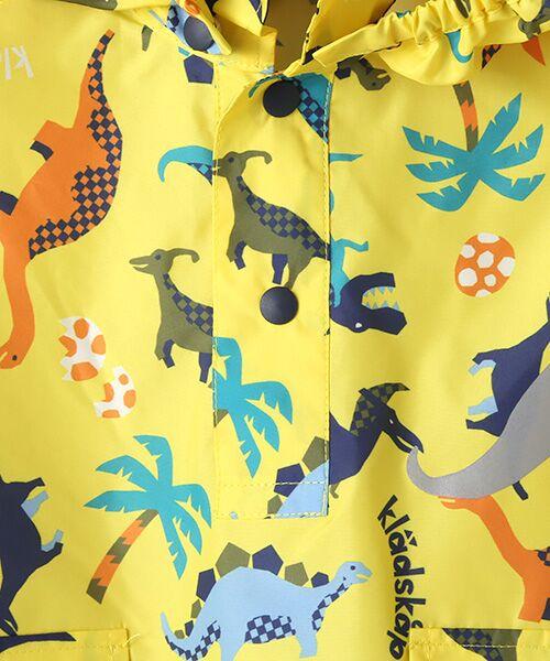 kladskap / クレードスコープ ポンチョ | 収納袋つき恐竜柄レインポンチョ | 詳細8