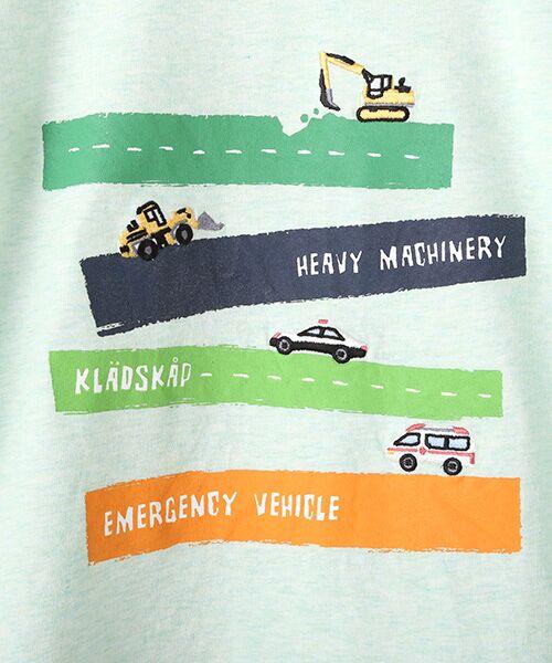 kladskap / クレードスコープ Tシャツ   抗菌防臭 働く車Tシャツ   詳細1