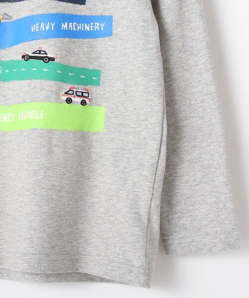 kladskap / クレードスコープ Tシャツ   抗菌防臭 働く車Tシャツ   詳細4
