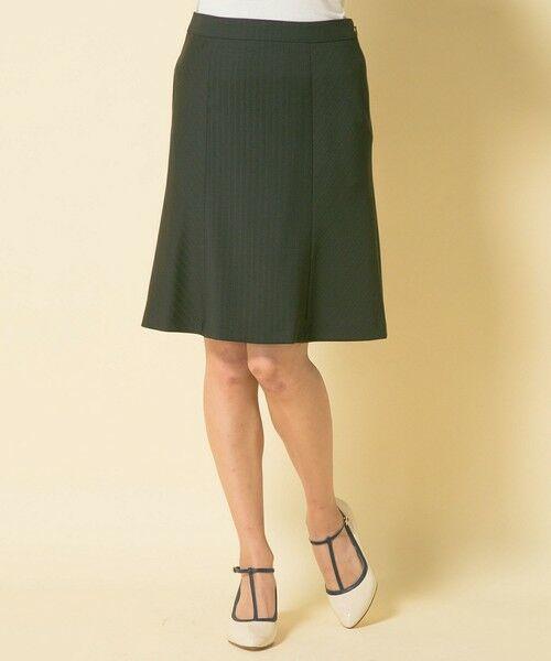 ピンストライプギャザースカート