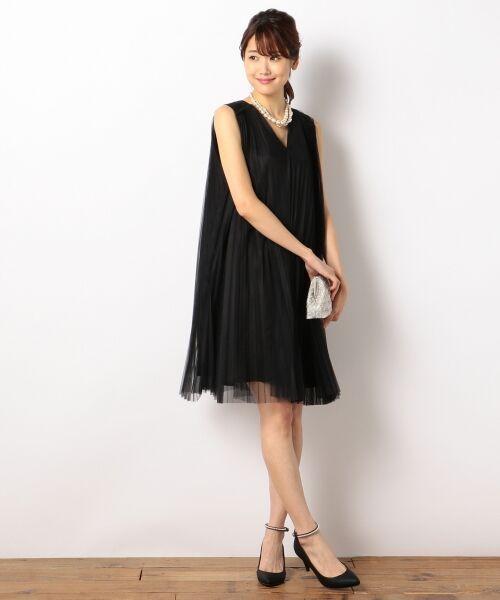 マルチプリーツ ドレス