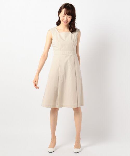 00d2358259277 セール  結婚式やパーティに ソフトグログラン ドレス (ドレス ...