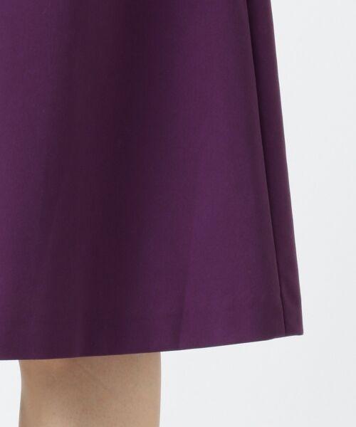 組曲 / クミキョク ミニ・ひざ丈スカート | 【洗える】ライトタスランピーチ スカート | 詳細20