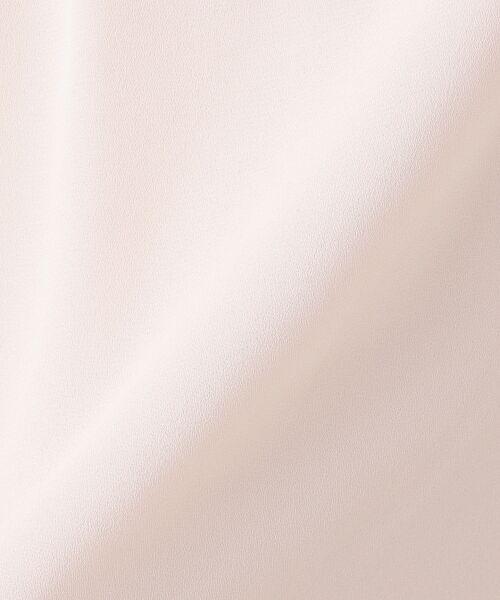 組曲 / クミキョク Tシャツ | 【洗える】レースコンビジョーゼット カットソー | 詳細21