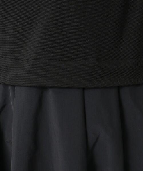 組曲 / クミキョク ミニ丈・ひざ丈ワンピース   【VERYコラボ】Octaライトジャージ ワンピース   詳細13