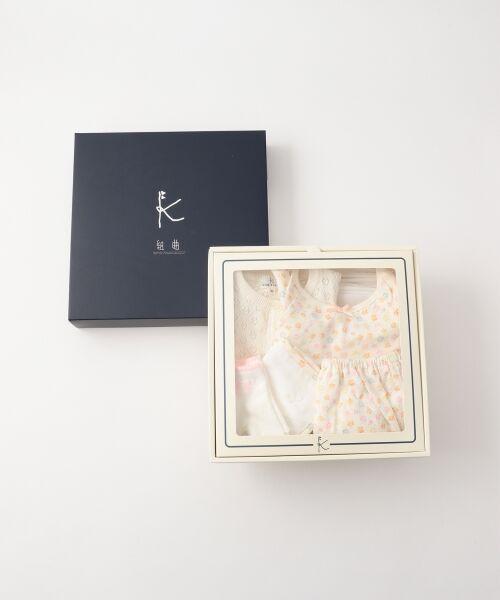 組曲 KIDS / クミキョク キッズ ギフトセット | 【BABY】ギフトBOX(フラワープリント 5点セット) | 詳細13