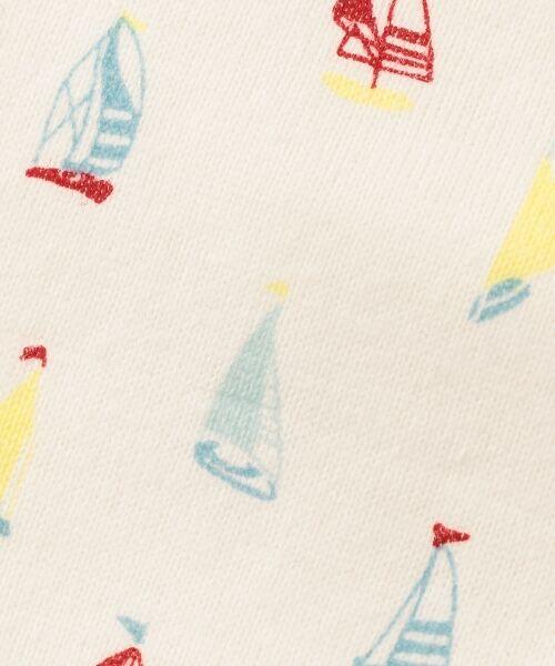 組曲 KIDS / クミキョク キッズ スタイ・ビブ   【BABY雑貨】ヨットプリント ビブ(リバーシブル)   詳細6