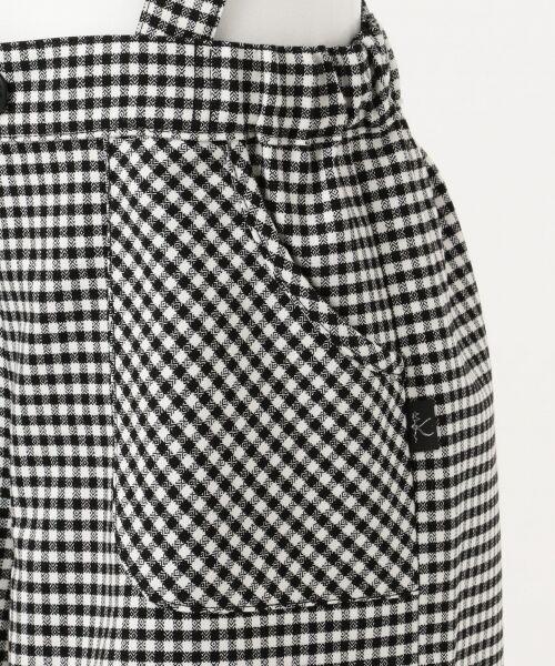 組曲 KIDS / クミキョク キッズ その他パンツ   【ひなちゃん着用/120-140cm】サスペンダー付きチェック パンツ   詳細12