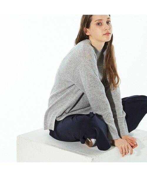 LACOSTE / ラコステ ニット・セーター | カシミアブレンドSUPER140s'ニットセーター | 詳細6