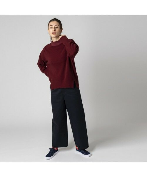 LACOSTE / ラコステ ニット・セーター | カシミアブレンドSUPER140s'ニットセーター | 詳細10