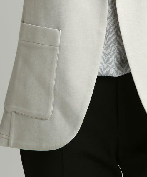 la.f... / ラ・エフ テーラードジャケット | 【雑誌掲載】肌触りなめらかイージーテーラードジャケット | 詳細9