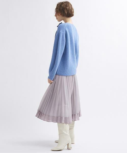 LANVIN en Bleu / ランバン オン ブルー ニット・セーター | グログランリボンニット | 詳細4