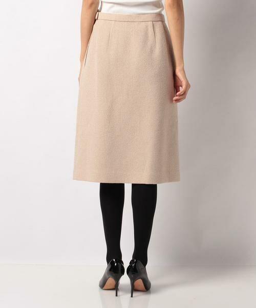 LAPINE BLANCHE / ラピーヌ ブランシュ ミニ・ひざ丈スカート | ウールループツイードスカート | 詳細2