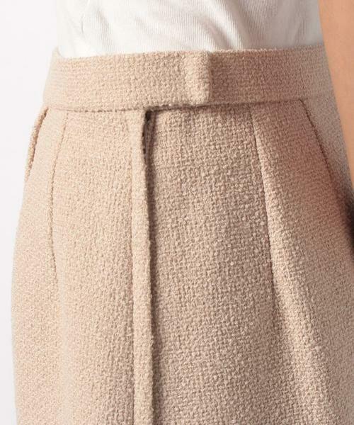 LAPINE BLANCHE / ラピーヌ ブランシュ ミニ・ひざ丈スカート | ウールループツイードスカート | 詳細3