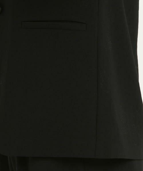 LAUTREAMONT / ロートレアモン テーラードジャケット | ドライタッチポリエステルジャケット | 詳細6
