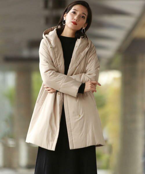 ダウンをシート状に加工したTHINDOWN。美シルエットとダウンの暖かさを兼ね備えたうれしい1着。