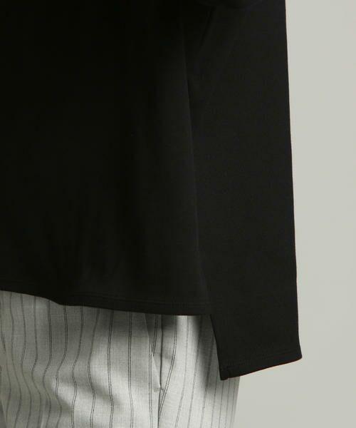 LAUTREAMONT / ロートレアモン カットソー | BRUGNORI社の素材を使用したシンプルカットソー | 詳細15