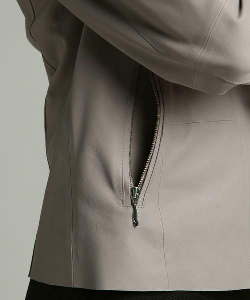 LAUTREAMONT / ロートレアモン テーラードジャケット | 【Rawtus】ノーカラーライダース | 詳細14