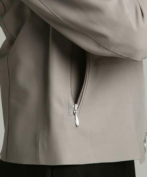 LAUTREAMONT / ロートレアモン テーラードジャケット | 【Rawtus】ノーカラーライダース | 詳細16