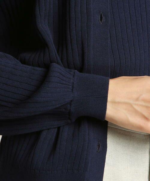 LAUTREAMONT / ロートレアモン トップス | 【予約】【WEB別注】洗えるベーシックに着回しの効くニットアンサンブル | 詳細5