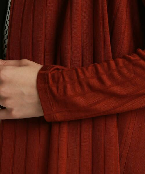 LAUTREAMONT / ロートレアモン カーディガン・ボレロ | 夏秋春着れる ワイドテレコソフトミリオンカットソー | 詳細6