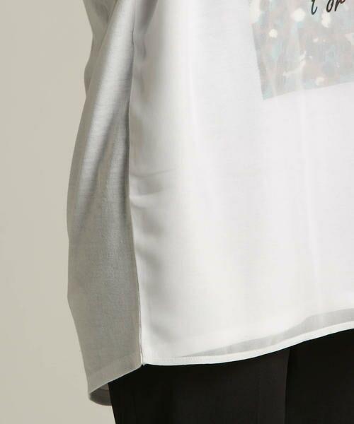 LAUTREAMONT / ロートレアモン Tシャツ | 【J Lounge別注】ボリューム感のあるきれい目Tシャツ  モノグラム | 詳細5