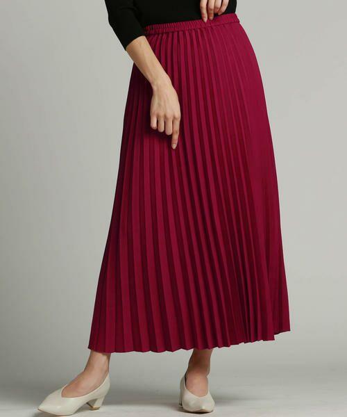 LAUTREAMONT / ロートレアモン スカート | ブリティッシュプリーツスカート(ピンク)