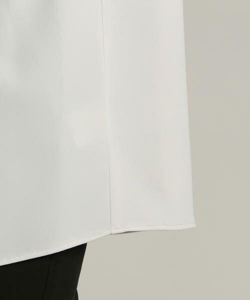 LAUTREAMONT / ロートレアモン シャツ・ブラウス | 【WEB別注】オフィススタイルにもなじむアシンメトリーブラウス | 詳細10
