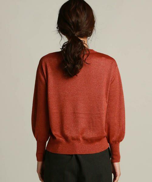LAUTREAMONT / ロートレアモン ニット・セーター | 袖ボリュームのハイゲージニット | 詳細9