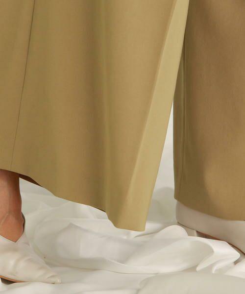 LAUTREAMONT / ロートレアモン パンツ | 【雑誌掲載】【セットアップ対応】ドライタッチワイドパンツ | 詳細11