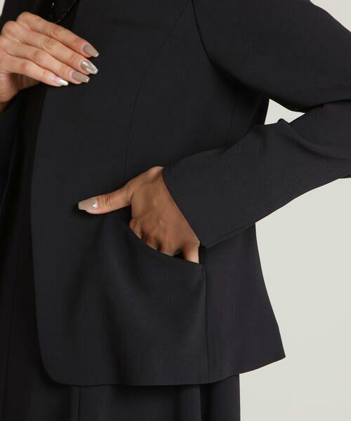 LAUTREAMONT / ロートレアモン テーラードジャケット | ソアパール Vカラーベーシックジャケット《セットアップ対応》 | 詳細7
