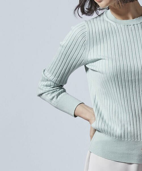 LAUTREAMONT / ロートレアモン ニット・セーター | 柔らかタッチのベーシックニット | 詳細9