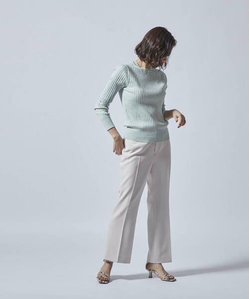 LAUTREAMONT / ロートレアモン ニット・セーター | 柔らかタッチのベーシックニット | 詳細11