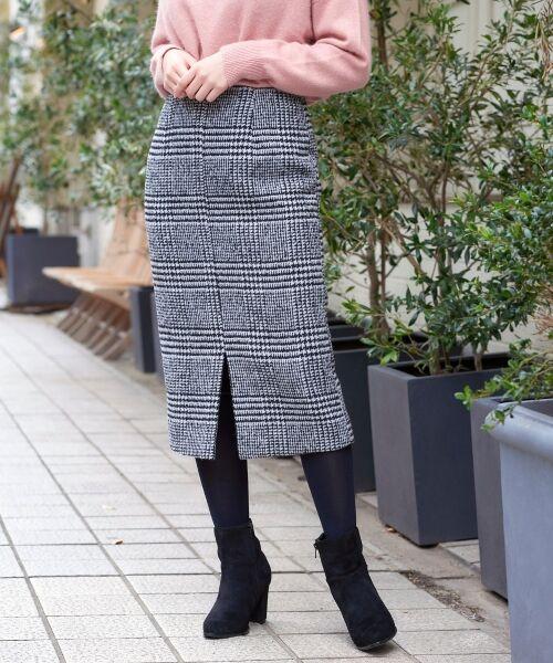 「再入荷情報」レトロな雰囲気のチェック柄がフェミニンな大人スカートが再入荷しました!