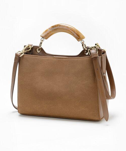 【タカシマヤファッションスクエア限定価格!】プラスチックハンドルバッグ