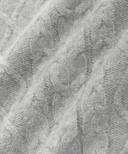 le.coeur blanc / ルクールブラン ニット・セーター | ケーブル袖ボリュームプルオーバー | 詳細4
