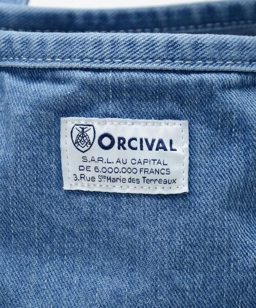 le.coeur blanc / ルクールブラン トートバッグ | ORCIVAL WASH DENIM バッグ | 詳細6