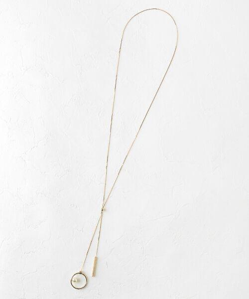 le.coeur blanc / ルクールブラン ネックレス・ペンダント・チョーカー   スライドボールネックレス   詳細2