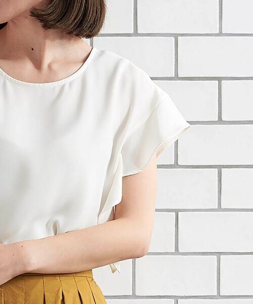le.coeur blanc / ルクールブラン シャツ・ブラウス | フレンチフリルスリーブブラウス | 詳細21