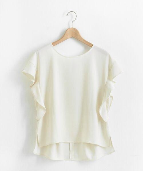 le.coeur blanc / ルクールブラン シャツ・ブラウス | フレンチフリルスリーブブラウス | 詳細23