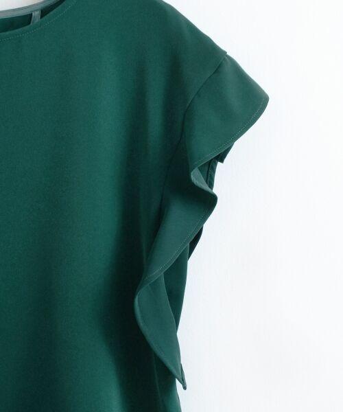 le.coeur blanc / ルクールブラン シャツ・ブラウス | フレンチフリルスリーブブラウス | 詳細3
