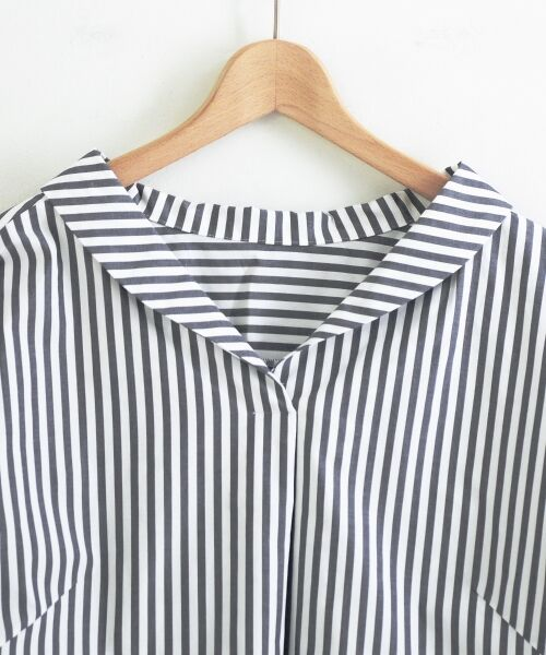 le.coeur blanc / ルクールブラン シャツ・ブラウス | 抜け衿ショールカラーシャツ | 詳細2